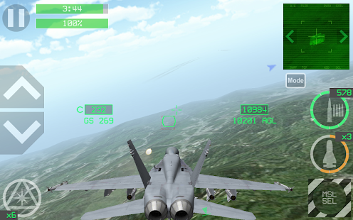 Strike Fighters Modern Combat - náhled