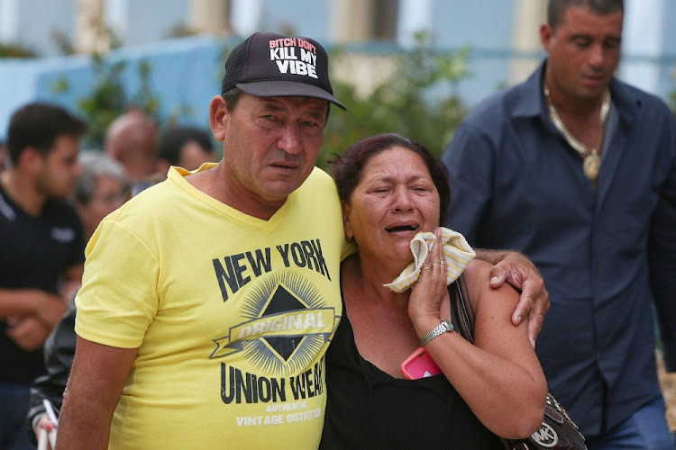 Relatives of victims of the Boeing 737 aircraft that crashed after taking off from Havana's main airport arrive to a hotel in Havana, Cuba, May 19 2018. Picture: REUTERS