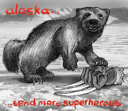 "Photo: ""Alaska - Send More Superheroes"""
