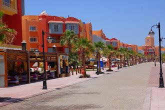 Photo: The new marina area of Hurgada Egypt