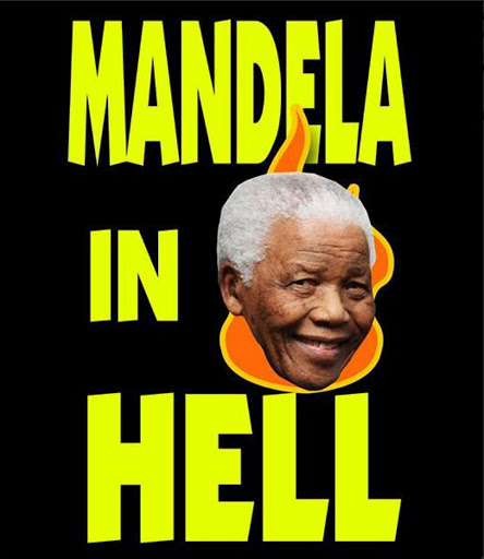 The Westboro Baptist Church's poster for Mandela.
