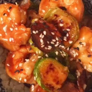 Spicy Asian Instapot Shrimp.
