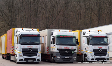 Photo: New Actros + MP2 + New Actros    >>> www.truck-pics.eu <<<