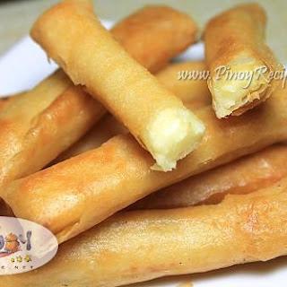 Filipino Cheese Sticks.
