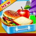 High School Lunchbox Food Chef icon
