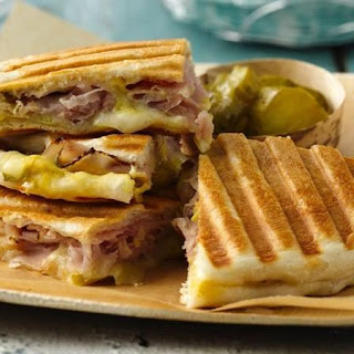 Pressed Cuban Sandwiches.