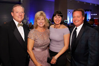 Photo: Tom and Sandy Turner & Christine and Don Peterson are all smiles during the 2013 Imagine! Harvest Ball.