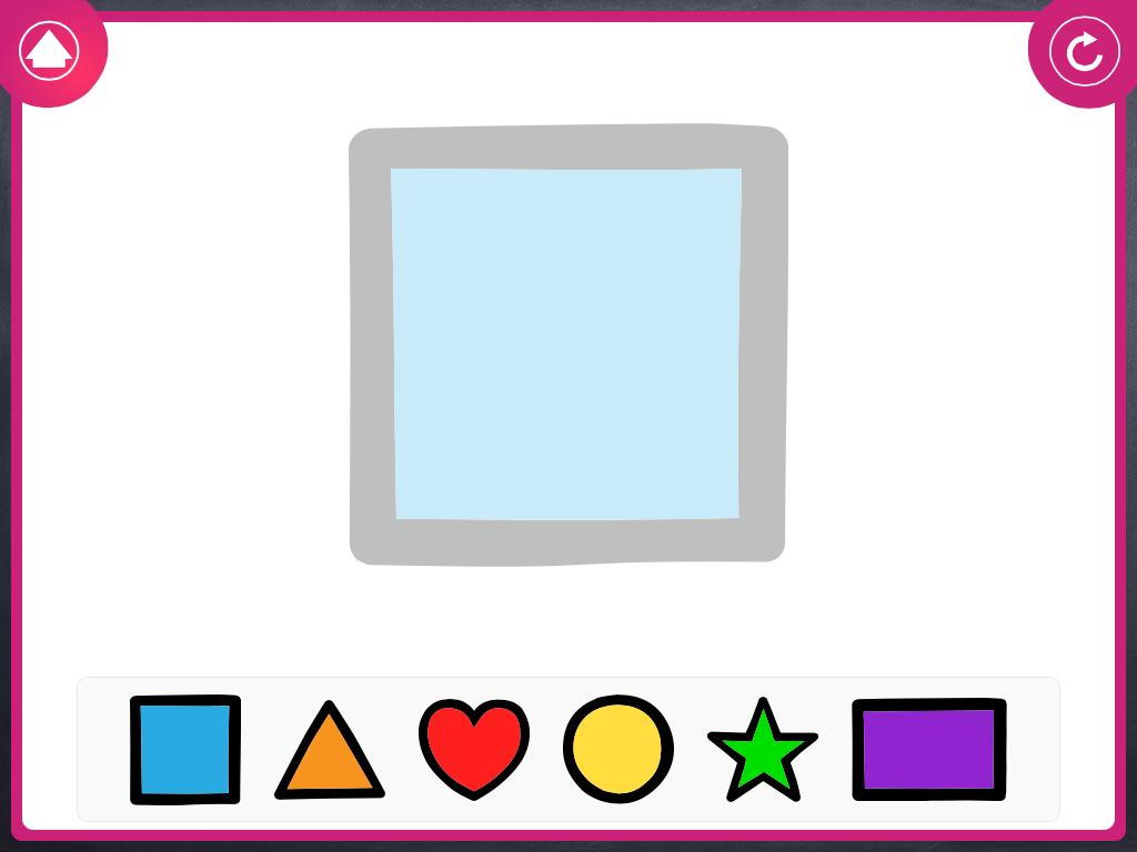 Xander Afrikaans Shapes & Colours- screenshot