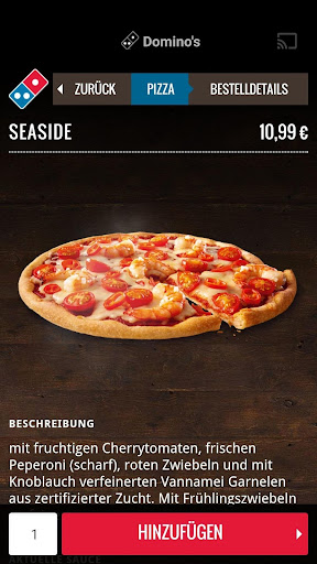 Domino's Pizza Germany screenshot 3