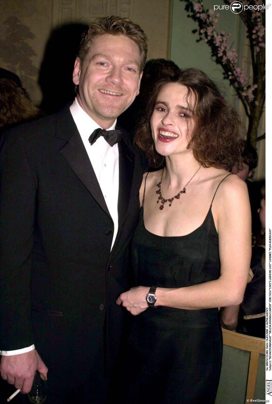 Helena Bonham and her ex-boyfriend Kenneth Branagh