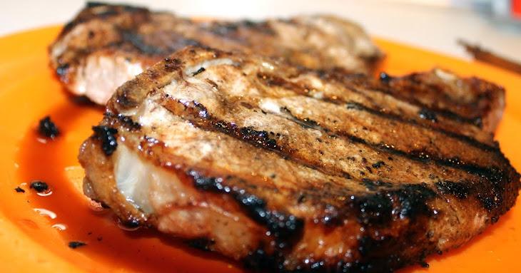 Grilled Center Cut Pork Chops Recipe