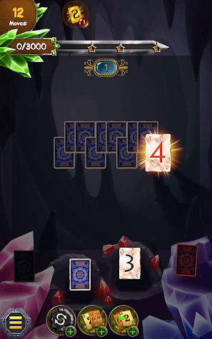 Regal Solitaire Shuffle Cards Screenshot