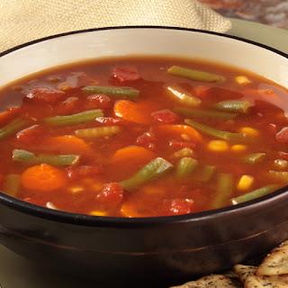 No Beef Vegetable Beef Soup