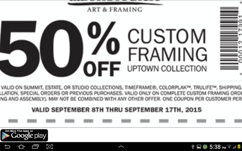 Whether it's a jersey, vintage poster, or photograph, you can find a custom framing solution right here—and with free pre-paid shipping. Either mail us your pieces or bring them to the Aaron Brothers Custom Framing counter at Michaels. Start Framing.
