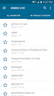 HIMSS Connected Health Conf. screenshot