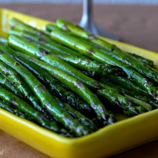Spicy Sauteed Asparagus.