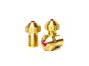 Abrasion Resistant 3D Printer Nozzles