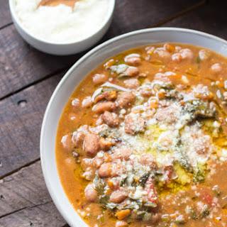 Tuscan Bean + Kale Soup
