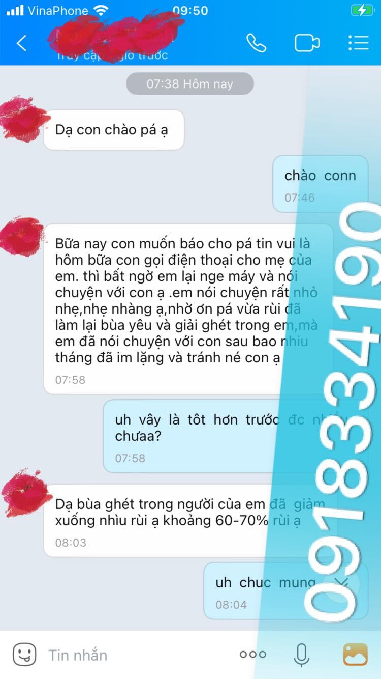 Thầy bùa yêu ở Bình Thuận được rất nhiều người tin tưởng