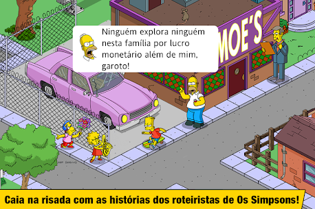 The Simpsons Tapped Out Apk Mod Compras Grátis 4