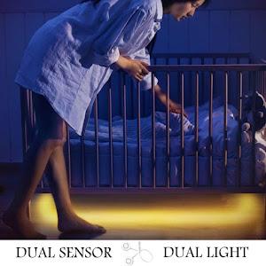 Banda LED cu senzor de miscare, 2 bucati x 1.5 metri