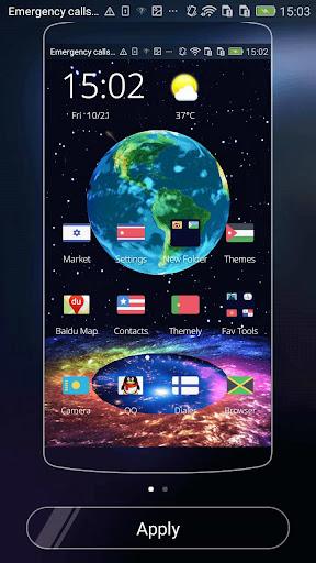 免費下載個人化APP|공간 3D 테마에 지구 app開箱文|APP開箱王
