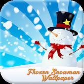 Frozen Snowman Wallpaper