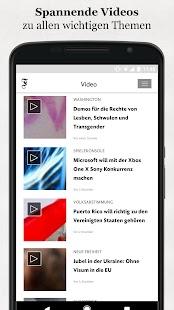 FAZ.NET - Nachrichten App - náhled