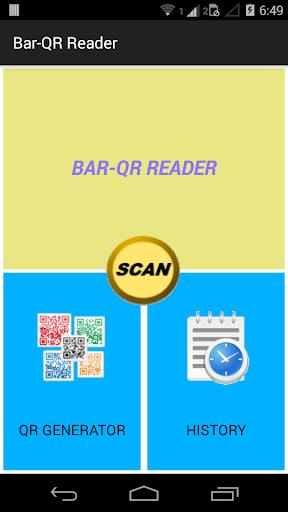 Bar-QR Reader