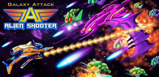 Galaxy Attack: Alien Shooter game (apk) free download for Android/PC/Windows screenshot