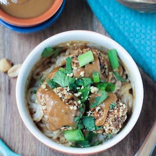 Thai Quinoa Meatballs from Minimalist Baker's Everyday Cooking and a Giveaway!.