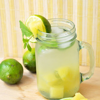 Refreshing Pineapple Limeade.