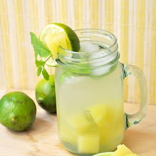 Refreshing Pineapple Limeade.