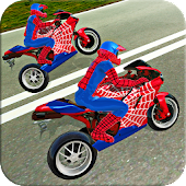 Tải Game Bike Stunt Super Hero Simulator Driver 3D