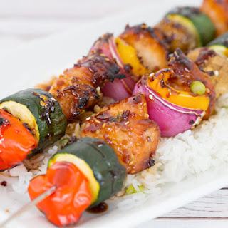 Teriyaki Chicken Kabobs.