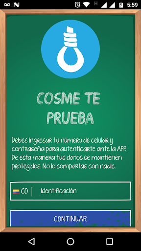 COSME TE PRUEBA 0.0.21 screenshots 1