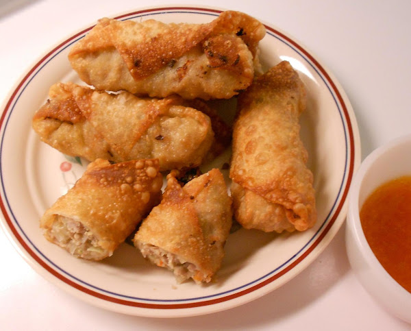 Easy Chinese Egg Rolls Recipe