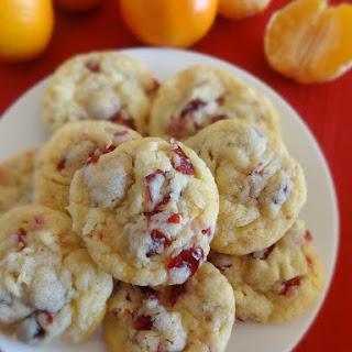 Cranberry Orange Coconut Cookies.
