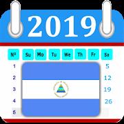 Nicaragua 2019 Calendar-Holiday