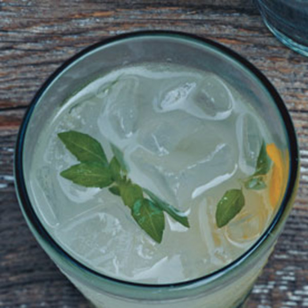 Basil Vodka Gimlets Recipe