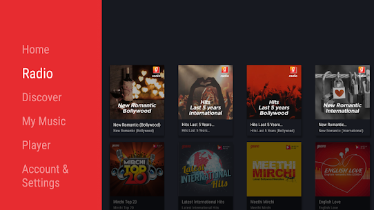 Gaana for Android TV App Download For Android 2