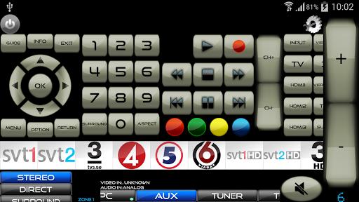 Remote for Panasonic TV+BD+AVR screenshot 4