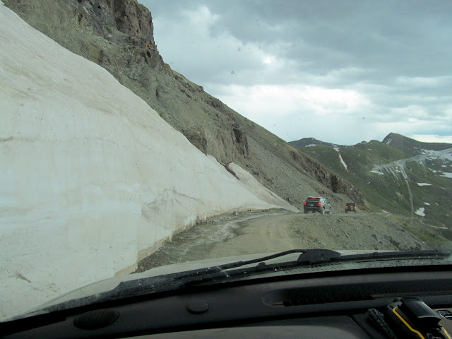 Descending from Engineer Pass toward Animas Forks