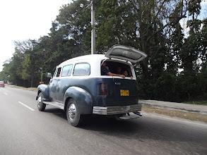 Photo: Asi něco jako taxi pro místní (uvnitř jich bylo opravdu mnoho)