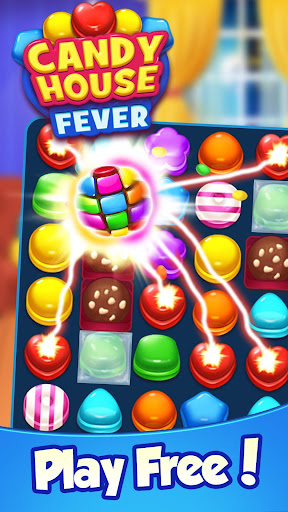 Candy House Fever - 2020 free match game 1.0.5 screenshots 1