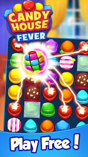 Download Candy House Fever - 2020 free match game For PC Windows and Mac apk screenshot 1