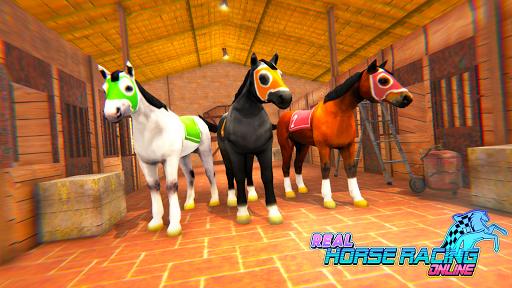 Télécharger Gratuit Real Horse Racing Online APK MOD (Astuce) screenshots 1