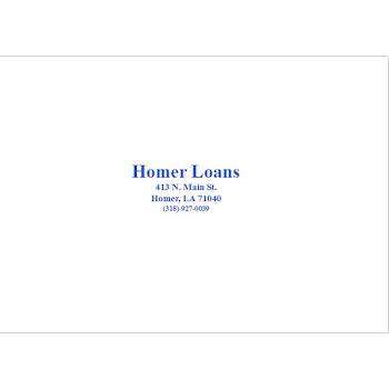 Homer Loans & Insurance Inc Payday Loans Picture