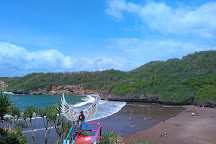 Baron Beach, Wonosari, Indonesia