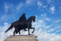 Statue of Ferenc Rakoczi, Budapest, Hungary